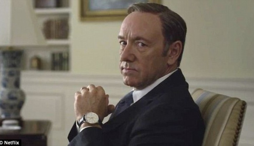 Netflix demite Kevin Spacey da série House of Cards