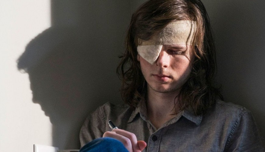 The Walking Dead – Chandler Riggs faz meme zoando a morte de Carl