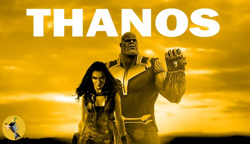 Thanos e Gamora ganham trailer no estilo Logan