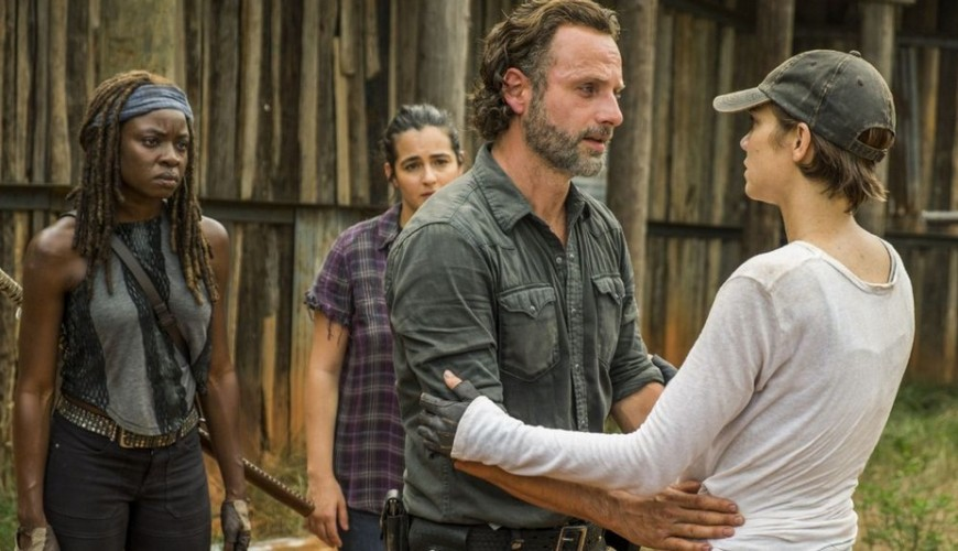 The Walking Dead – foto dos bastidores registra emocionante despedida de Andrew Lincoln