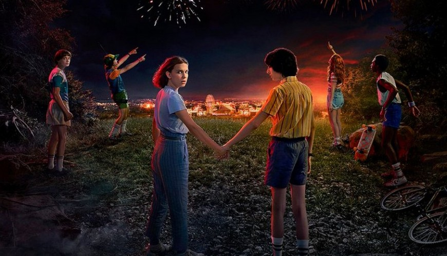 Stranger Things – Netflix anunciou durante a virada do ano a data de estreia da 3ª temporada