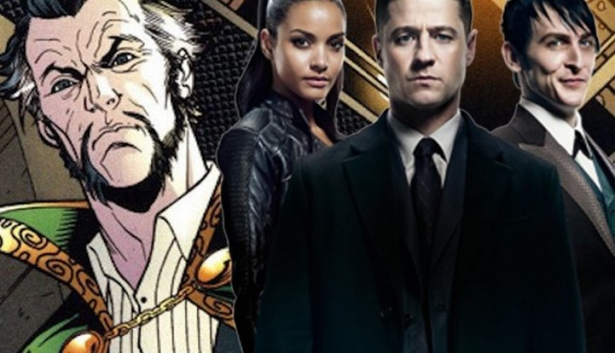 Ra's Al Ghul chega a Gotham no trailer do final da terceira temporada.
