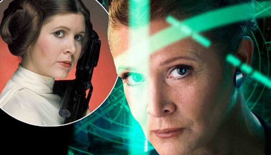Causa da morte de Carrie Fisher foi apneia do sono, revela legista.