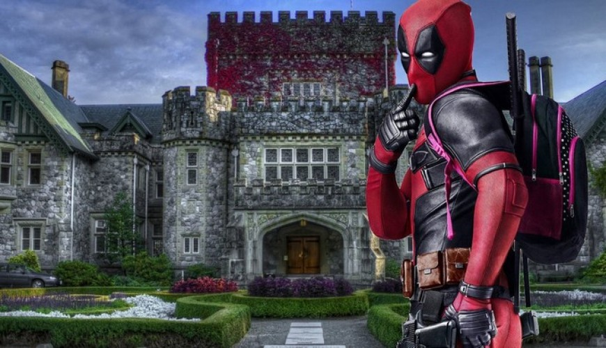 Deadpool 2 – Ryan Reynolds posta foto vestido de Deadpool na Mansão dos X-Men.
