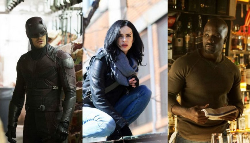 Séries do Demolidor, Jessica Jones e Luke Cage confirmadas para 2018.