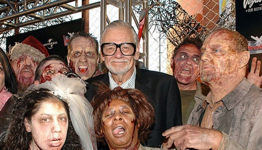 Criador de The Walking Dead, Stephen King e James Gunn prestam tributo a George Romero