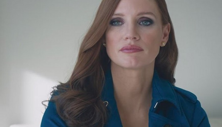 Jessica Chastain é a rainha do pôquer ilegal em trailer de Molly's Game
