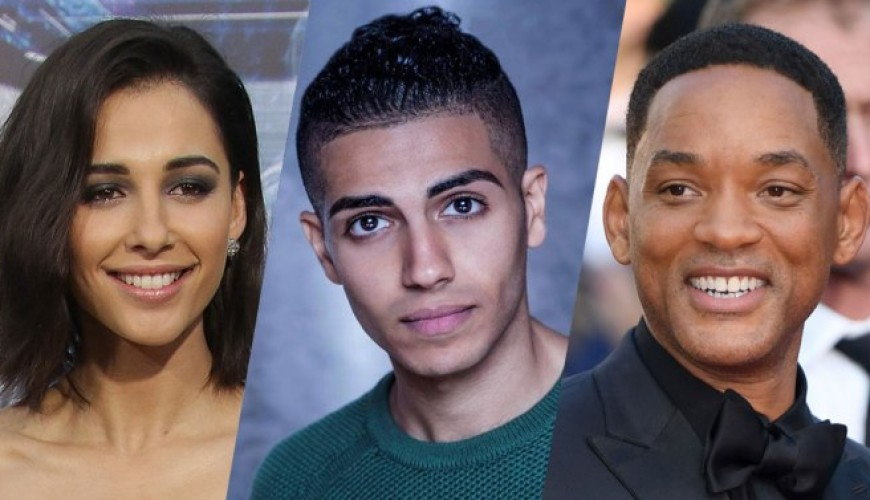 Aladdin – Will Smith posta primeira foto do elenco principal reunido