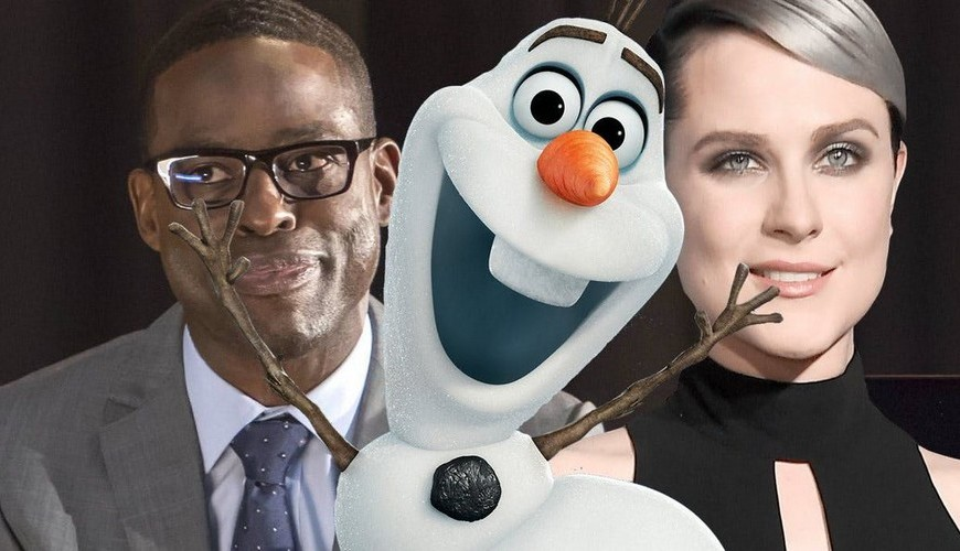 Frozen 2 – Evan Rachel Wood e Sterling K. Brown devem estar no elenco do filme