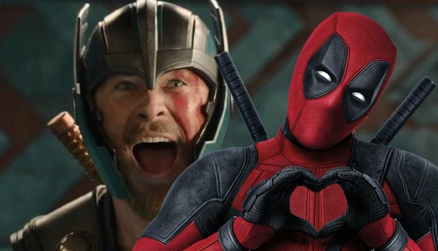 Chris Hemsworth dá as boas-vindas a Ryan Reynolds e Deadpool no MCU