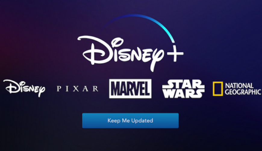 Revelada a interface do serviço de streaming Disney +