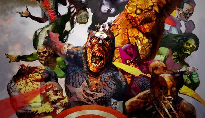 What If…? – logo de série animada indica adaptação de Marvel Zombies