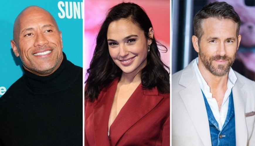Red Notice – The Rock, Gal Gadot e Ryan Reynolds vão estrelar filme da Netflix