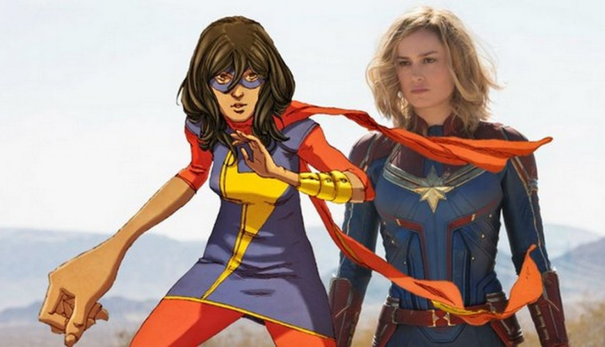 Kamala Khan, a Ms. Marvel, também vai estar no cinema