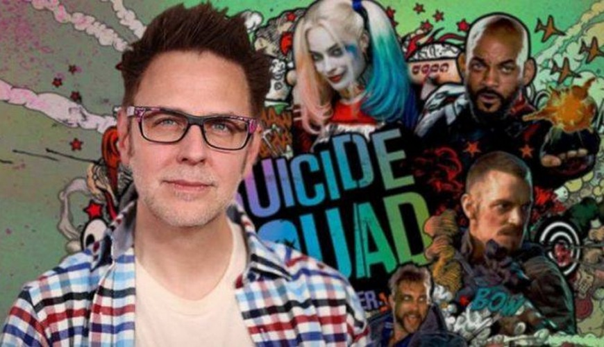 James Gunn revela novo logo do Esquadrão Suicida