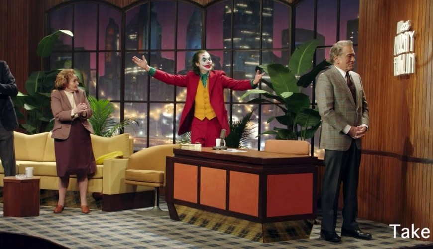 Coringa – vídeo mostra cenas deletadas com entradas alternativas do Coringa na TV