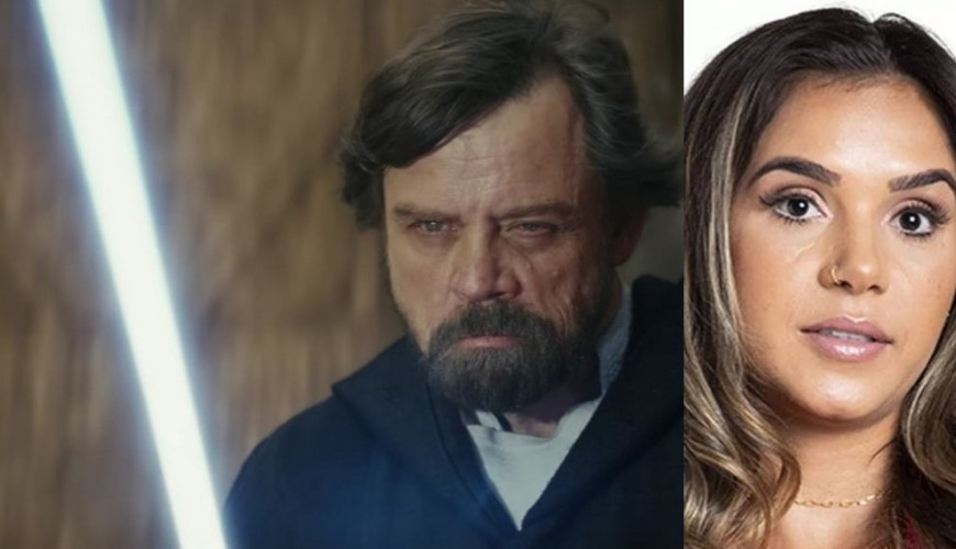 Mark Hamill, o Luke Skywalker, pede a saída da participante Gizelly no paredão do BBB 20