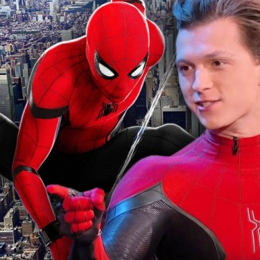 Homem-Aranha 3 – Tom Holland é fotografado com traje levemente modificado
