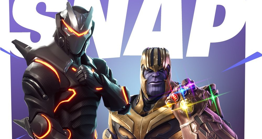 Thanos estará em crossover de Fortnite's Battle Royale com Guerra Infinita