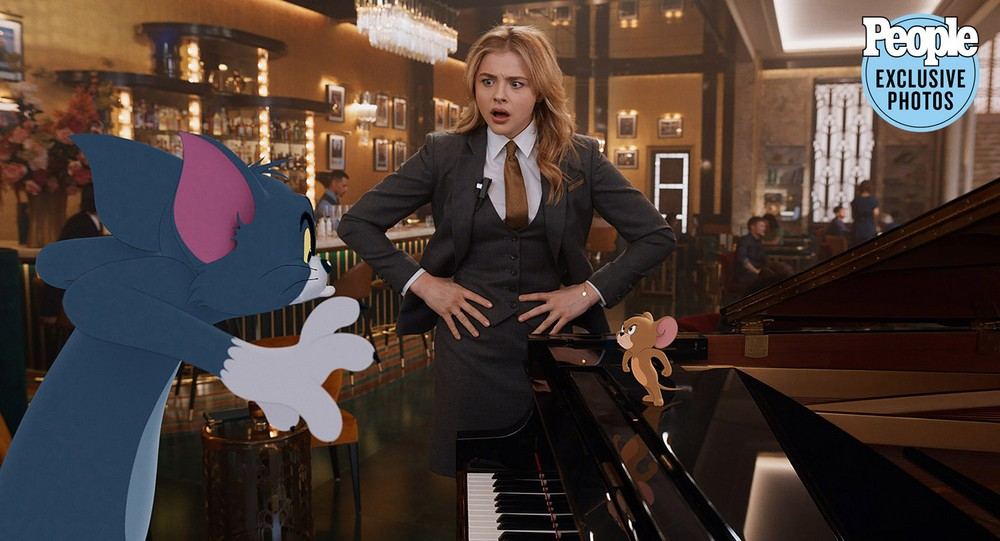 Tom e Jerry live action Chloe Grace Moretz